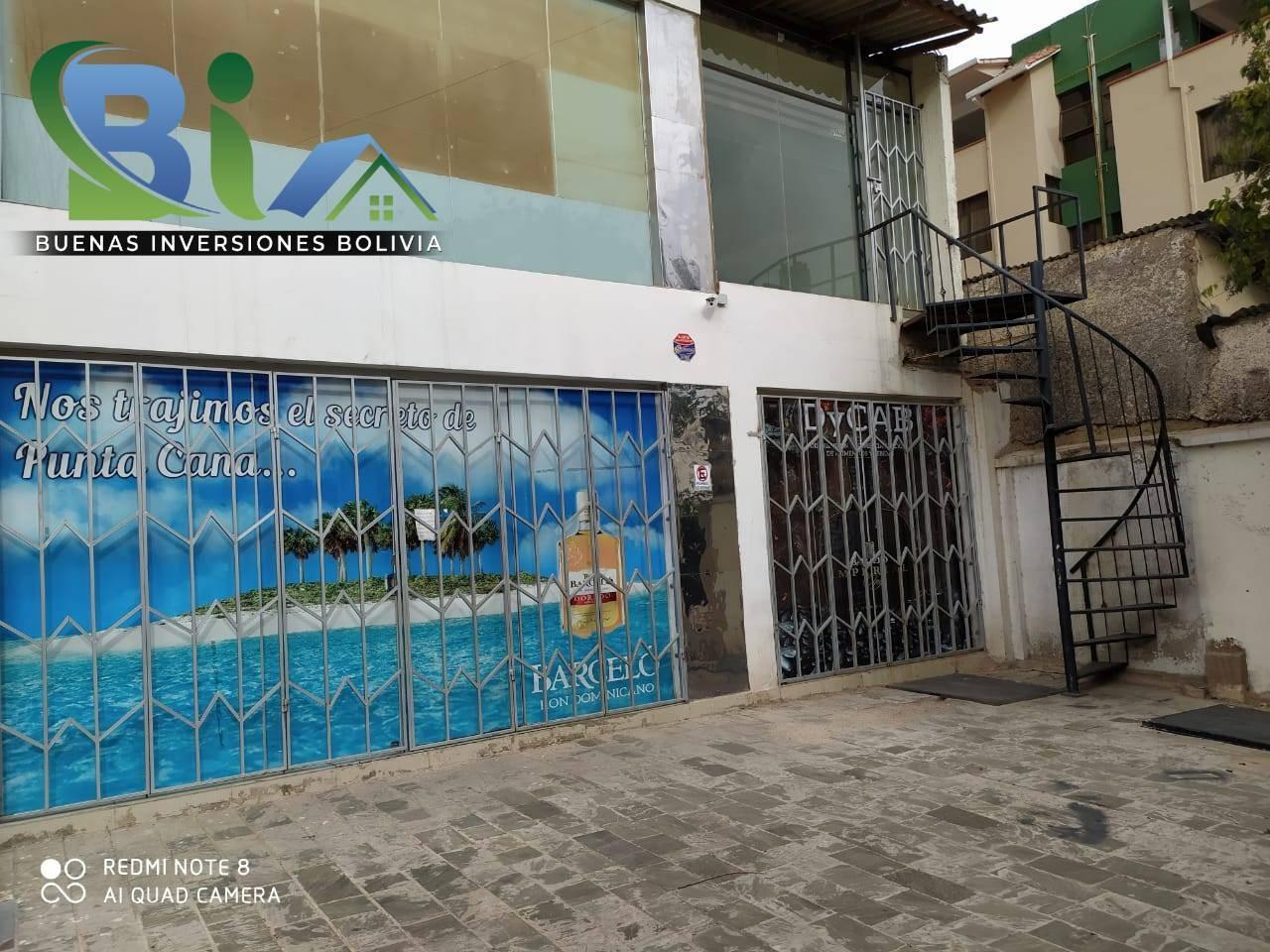 Local comercial en Alquiler $us. 450.- LOCAL COMERCIAL + MEZZANINE PROX. CALA CALA Foto 5